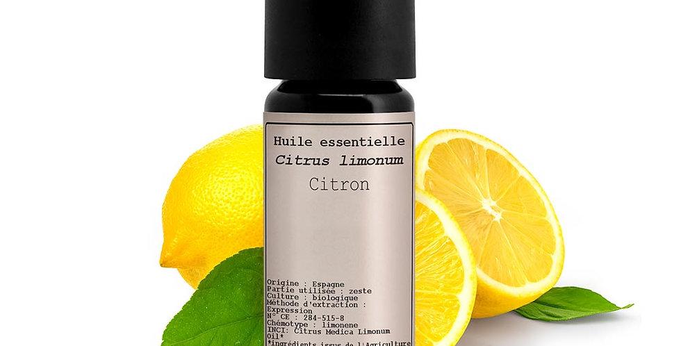 Aceite esencial Limón (Citrus limon (L.))