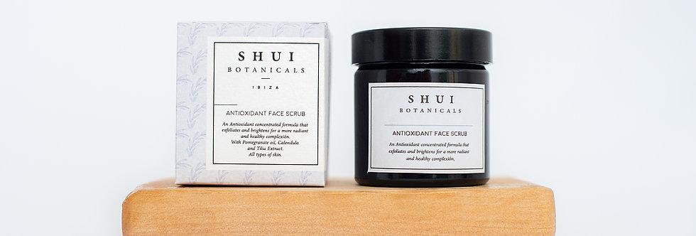 Exfoliante facial antioxidante, Shui Botanicals, 60 ml