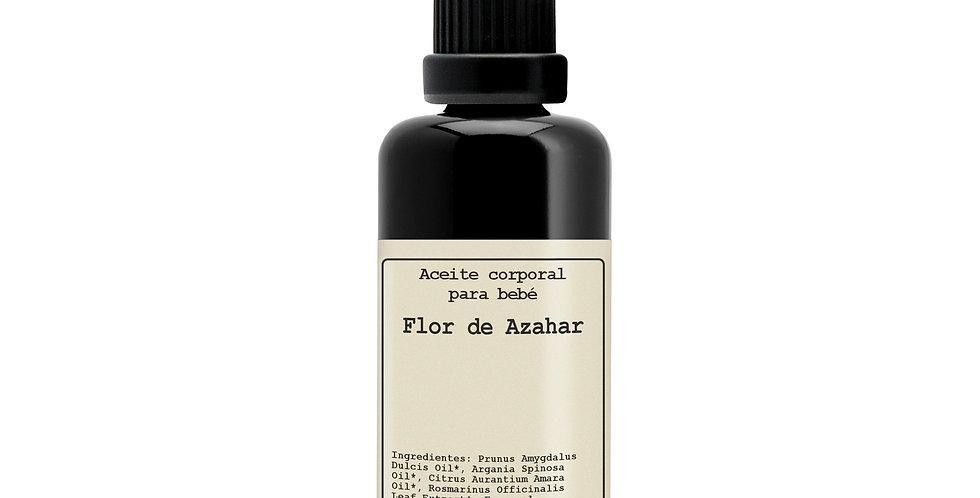 Flor de Azahar,  Aceite corporal para bebé, Hévéa