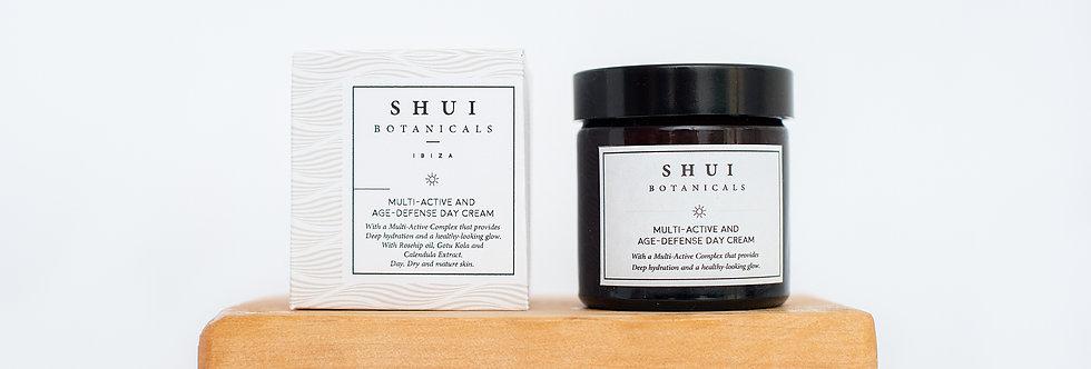 Crema día piel seca/madura,  Shui Botanicals, 60ml