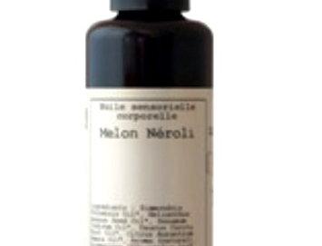 Aceite corporal sensorial Melón Neroli,  Hévéa