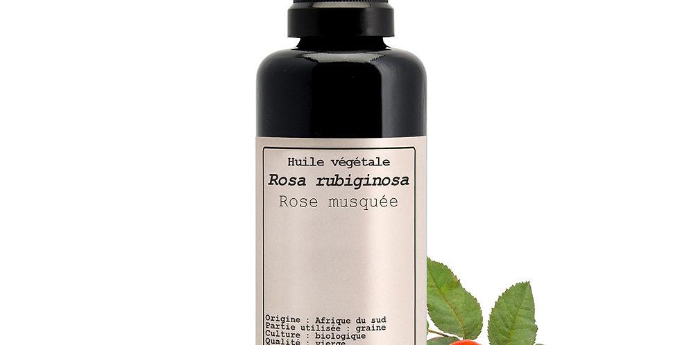 Rosa mosqueta (Rosa rubiginosa) Aceite Vegetal, Hévéa