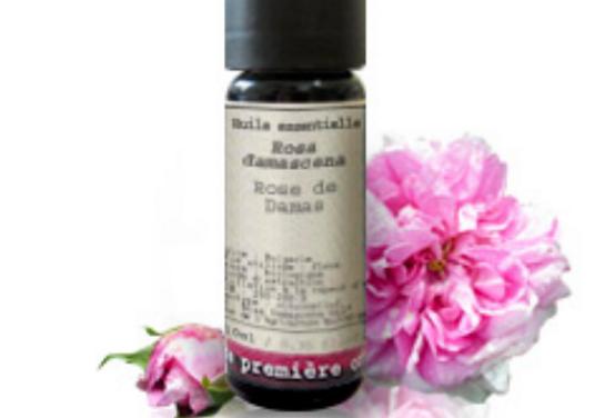 Aceite esencial Rosa de Alejandría (Rosa damascena)