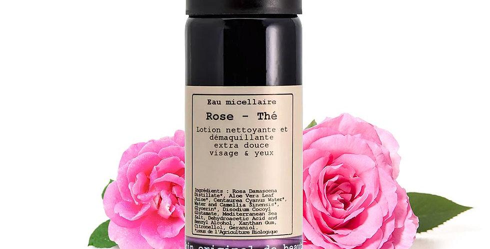 Agua micelar Rosa - Té, facial y ojos, Hévéa
