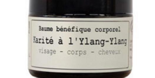 Karite al Ylang Ylang, Bálsamo beneficioso corporal, Hévéa
