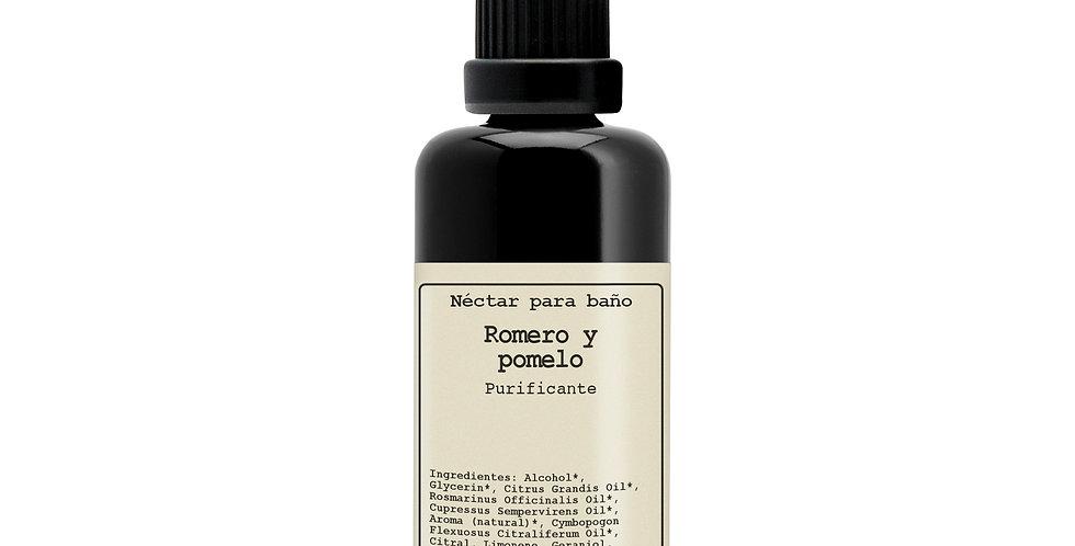 Romero y pomelo, Néctar para baño purificante, Hévéa