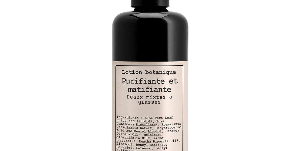 Loción botánica purificante y matificante, pieles mixtas a grasas, 100 ml
