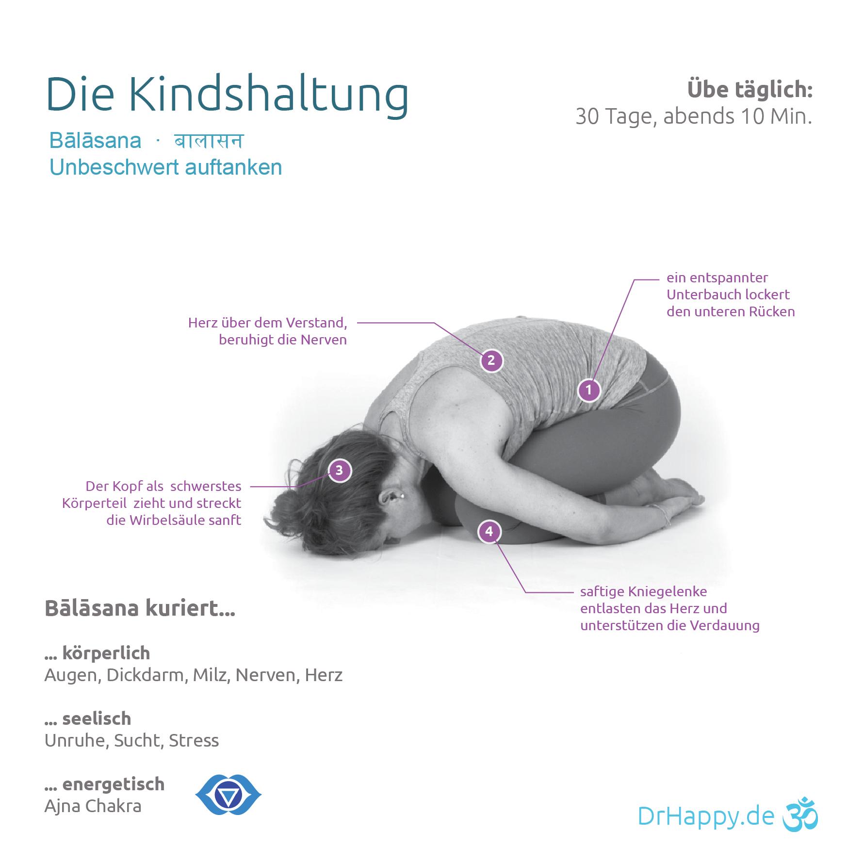Yogauebung-Kindshaltung-Balasana