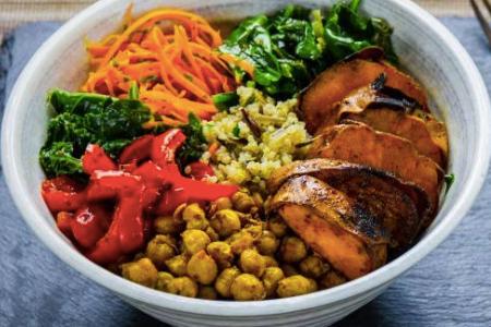 Vegan Curry Bowl