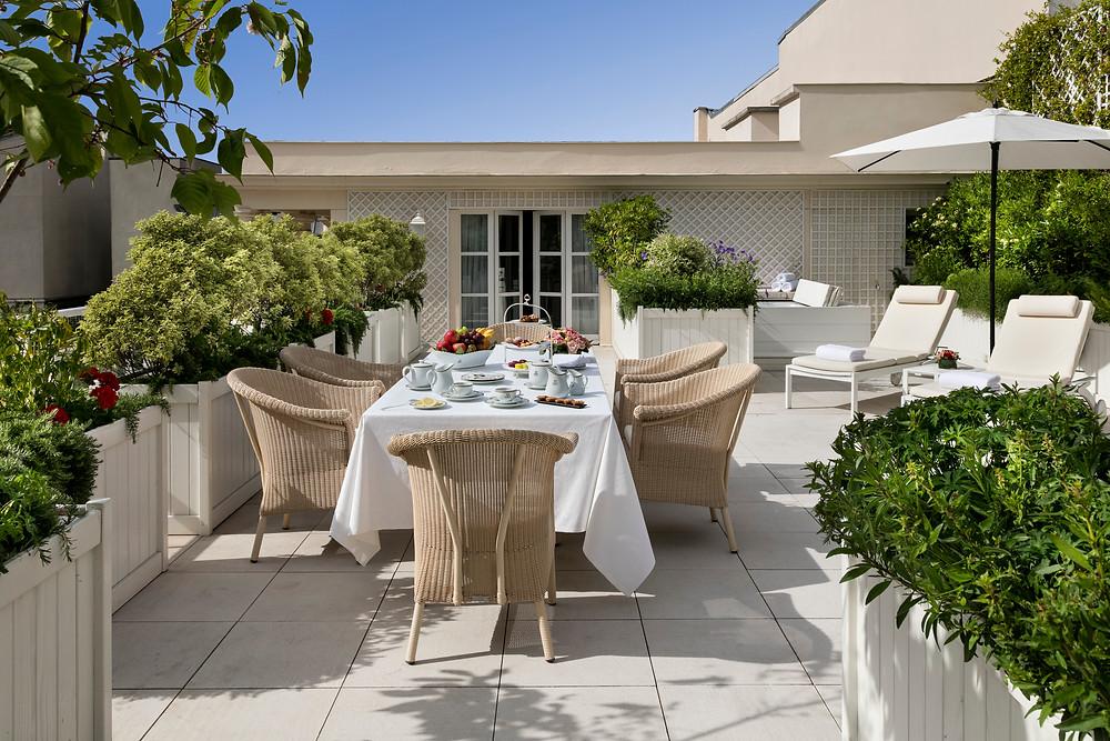 Terrace Suite at Le Bristol
