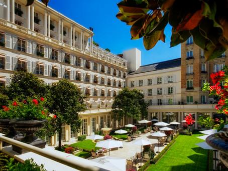 Le Bristol Voted 'Best Luxury Hotel in France'