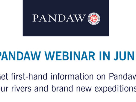 Pandaw Webinar in June