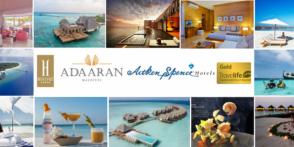 Adaaran Maldives co-hosted with The Holiday Factory