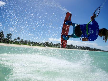 Kitesurfers' paradise in Zanzibar
