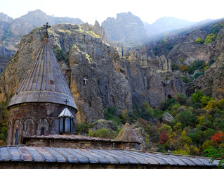 Morning Trip to Geghard Monastery