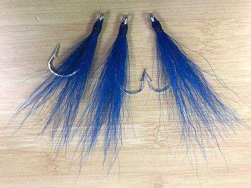 Bucktail Teaser - Blue / Blue