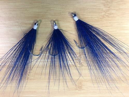 Bucktail Teaser - Blue / White