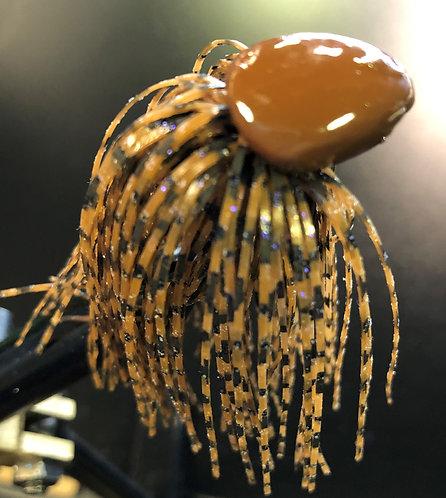 Peanut Butter & Jelly Weedless Brush Jig