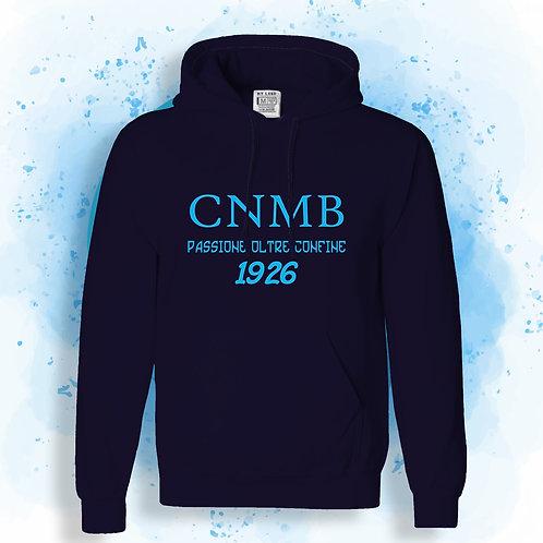 Felpa UOMO blue navy CLUB NAPOLI MONACODI BAVIERA