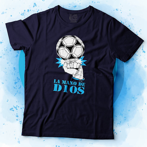 """T-shirt """"La mano de D10S 2"""""""
