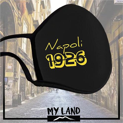 """4 Mask Total Black """"Napoli 1926"""""""
