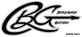 Bordignon guitars Logo (BG with text & 2