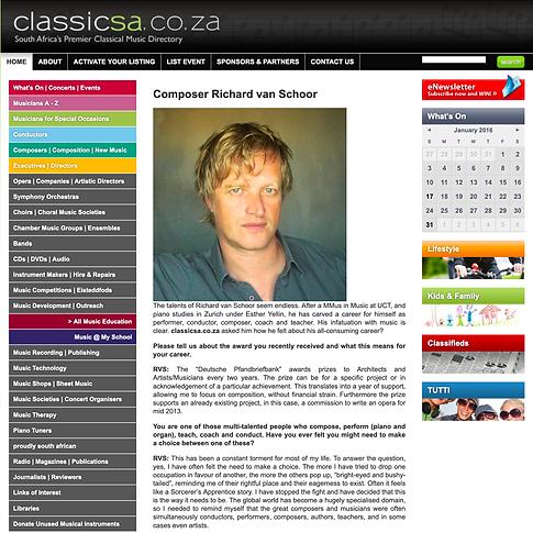 Classic SA.Interview