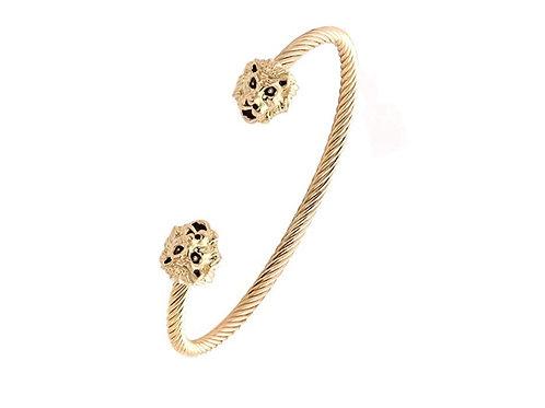 Tiger Design Hand Cuff Bracelet