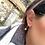 Thumbnail: Snowflakes Hoops Earrings