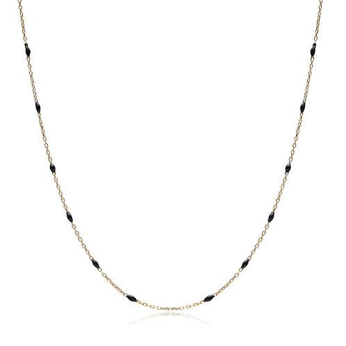 30 Force Black Enamel Chain