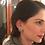 Thumbnail: Star Handcrafted Black Rhodium Earrings