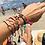 Thumbnail: Black Knitted Bracelet