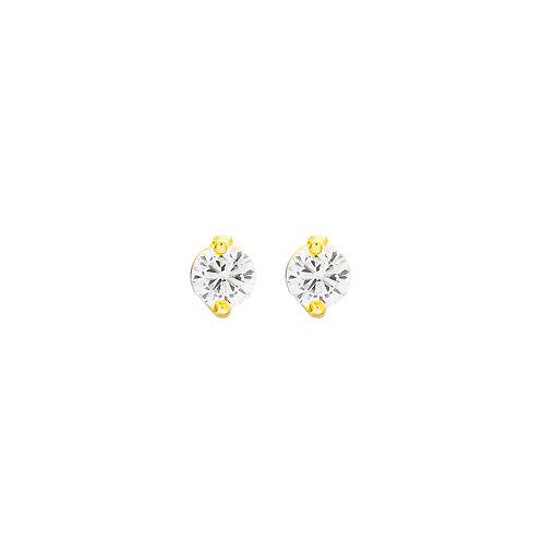 Stud Gold Earrings