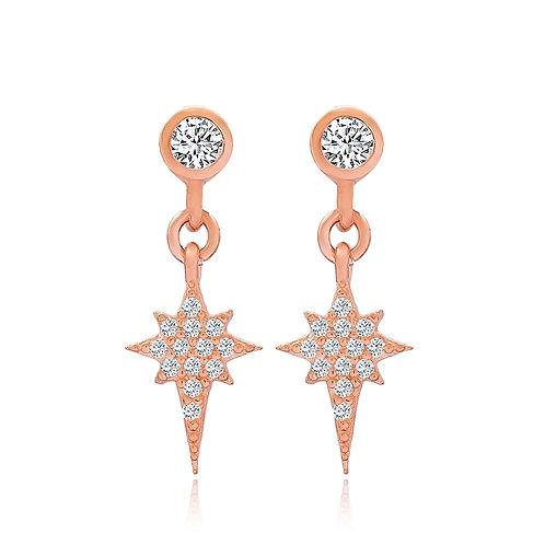 Mini Star Gold Earrings