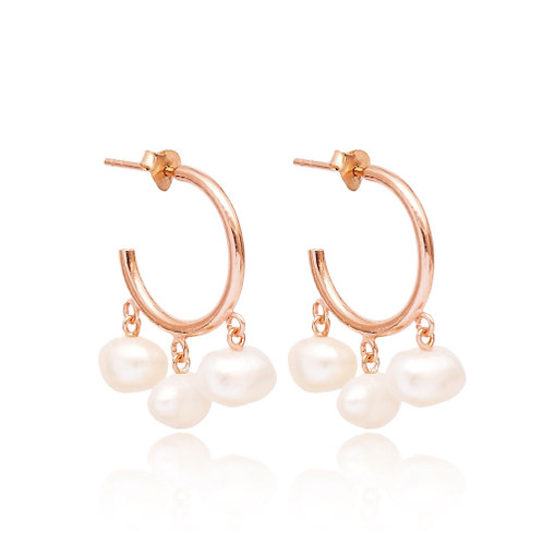 Pearl Design Earrings