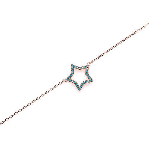 Star Rose Gold Bracelet