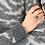Thumbnail: Emerald Vintage Ring