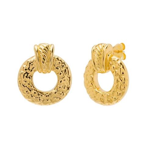 Greek Mini Hoop Earrings