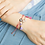 Thumbnail: Grey Knitted Bracelet
