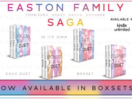 💙♥️EASTON FAMILY DUET BOXSETS LIVE!💜🧡