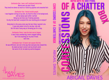 Confessions of a chatterbox is Live!