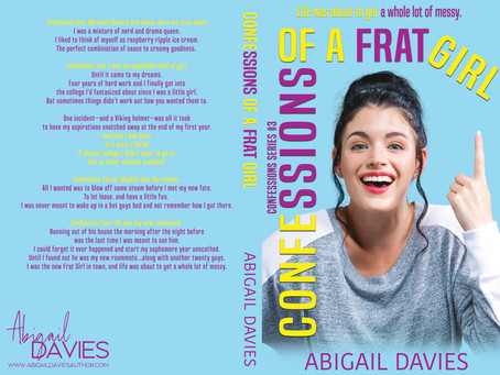 CONFESSIONS OF A FRAT GIRL COVER REVEAL