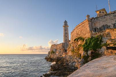 Havana, Cuba. October 31, 2020. Morro's