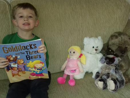 Jacob and the three bears. (Nursery am)