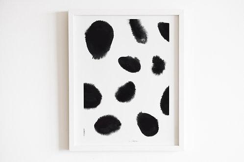 Giant Monochrome Spot Print