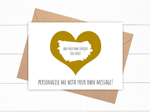 Personalised Scratch Card - Choose Your Message!