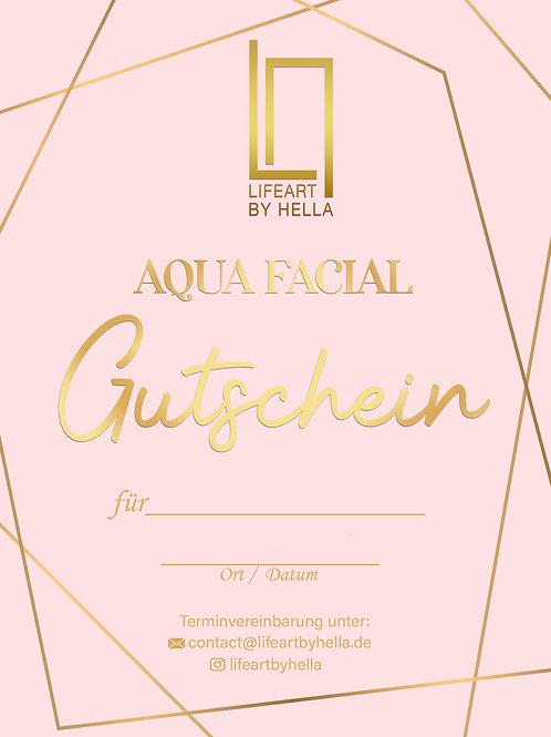 Aqua Facial Gutschein