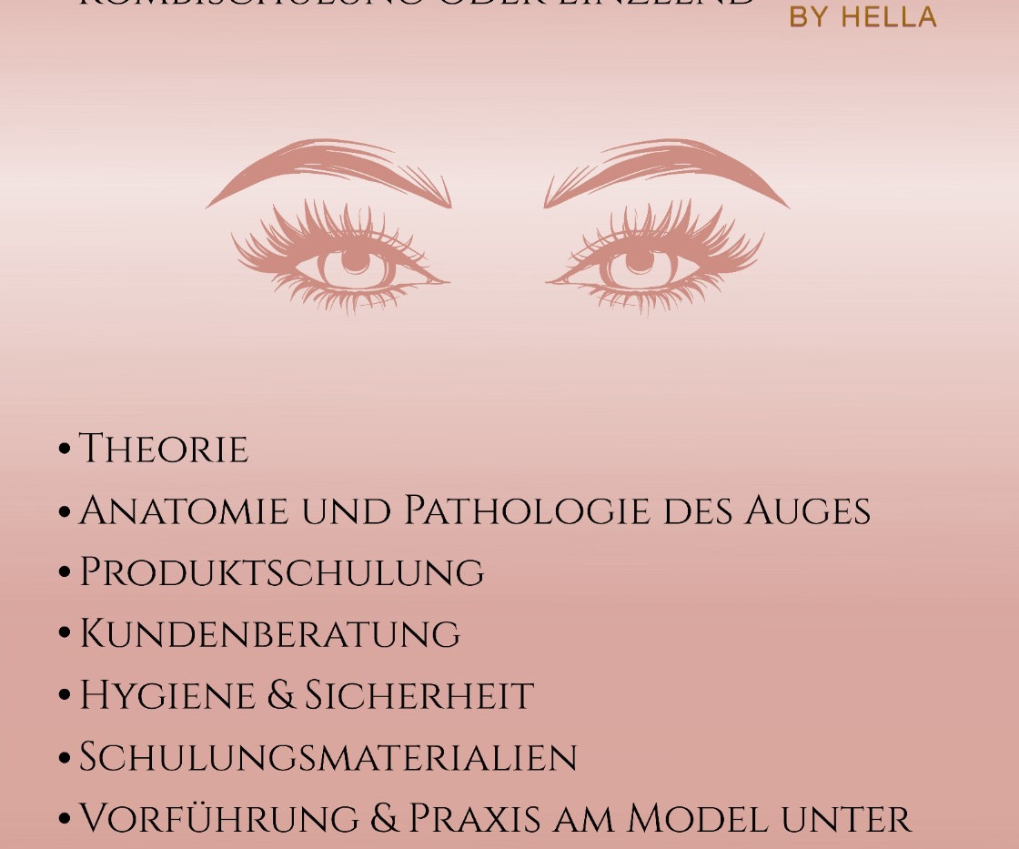 Brow & Lash Lifting Schulung