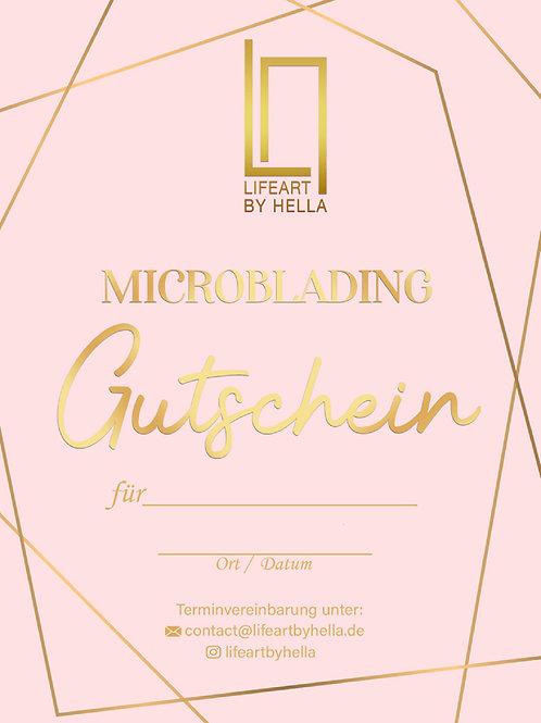 Microblading Gutschein 1. Behnadlung