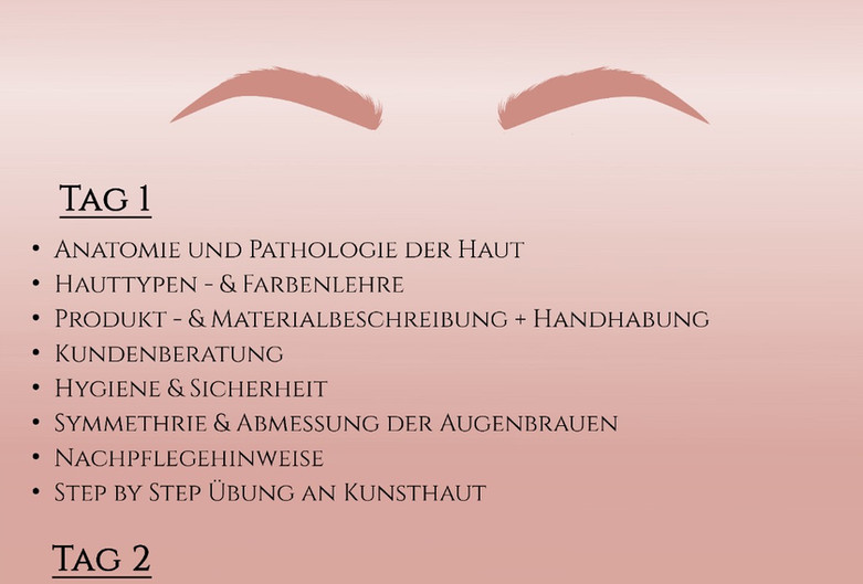 Kombischulung Microblading & Powderbrows